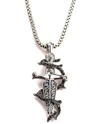 stephen webster sapphire dagger necklace