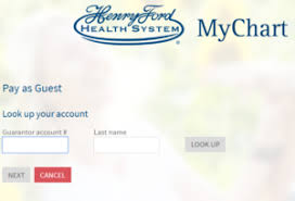 Henry Ford Hospital My Chart Mychart Henry Ford Henry Ford Mychart Login At Mychart