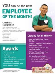 employee of month employee of the month monica casorla