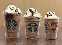 Starbucks Mocha Frappuccino Light Nonfat Milk Starbucks Mini Frappuccino Calories Popsugar Fitness