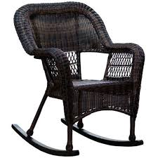 dark brown wicker outdoor patio rocking chair at home inside outside chairs designs 33