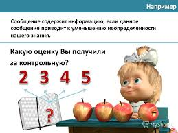 Презентация на тему Н Г Угринович класс § Процесс познания  3 Какую оценку Вы получили за контрольную