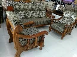wooden sofa set wooden sofa set teak