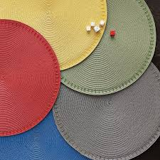 placemats for round tables designs