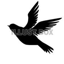 無料イラスト 鳥シルエット