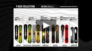 Lib Tech Size Chart 2018 T Rice Pro