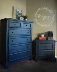 dark blue dresser. Unique Dark Navy Blue Dresser Painted With Annie Sloan Chalk Paint35 Napolionic Blue  25 Graphite Then Clear And Dark Waxed Custom Painted Dressers By The  Intended Dark I