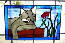 stained glass cats stained glass photos stained glass cats free patterns