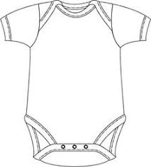 Onesie Template Baby Onesie Drawing At Getdrawings Com Free For Personal Use Baby