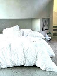 grey ruched bedding sets duvet cover sham cal king pink