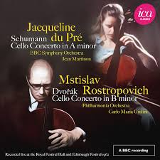 <b>Jacqueline du Pré</b>: <b>Schumann</b> & Dvořák: Cello Concertos (Live ...