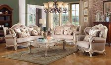 french provincial living room set. marseille antique white french provincial 3-pc living room sofa set in beige