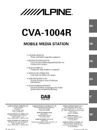 alpine cva 1004r broadcasting sound production technology alpine cva 1004 wiring diagram at Alpine Cva 1004 Wiring Diagram