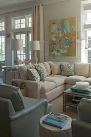 stylish coastal living rooms ideas e2. Coastal Chic Living Room - Collins Interiors Via Simplified Bee \u003d Liking The Gray Walls With Cream Tone Curtains. Blues Are Beautiful Too! Stylish Rooms Ideas E2 M