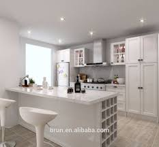 White High Gloss 2pac Modern Kitchen Cabinets Cheap Cabinets Hot