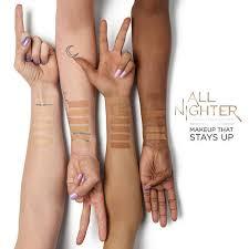All Nighter Liquid Foundation