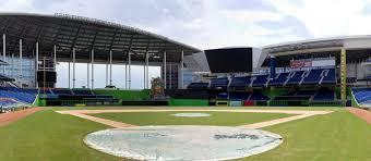 Miami Marlins Interactive Seating Chart Marlins Park Seating Chart Map Seatgeek