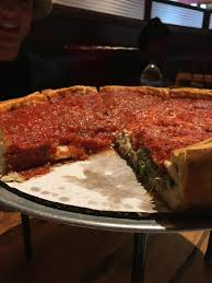 giordano s pizza half cheese half spinach and mushroom