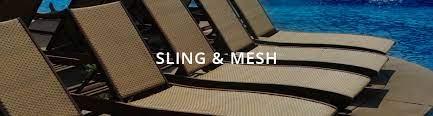 indoor outdoor mesh and sling fabrics
