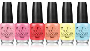 Press Release: <b>OPI Retro Summer</b> Collection. - Adventures In Acetone