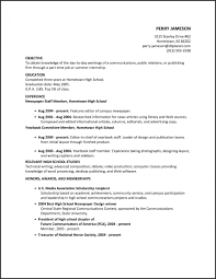 Resume Templates. High School Graduate Resume Template: 212 777 3380 ...