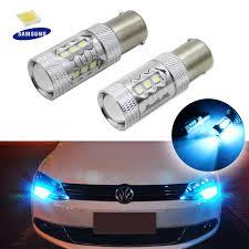 2007 Vw Jetta Daytime Running Light Bulb Details About 2x Ice Blue Led Daytime Running Light Drl Daylight Fog Lamp Day Lights Universal