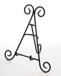 Wrought Iron Art Display Stands