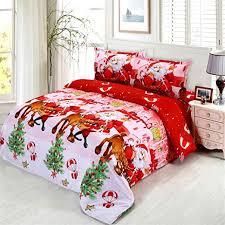 JARSON 4Pcs Merry Christmas Bedding Set King ... - Amazon.com