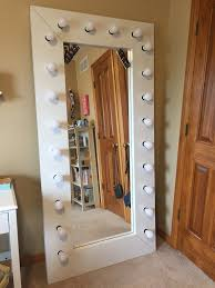 Full Size Mirror With Lights Full Length Vanity Selfie Mirror With Lights Ikea Mirror