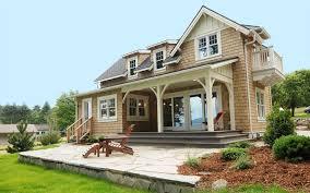 Method Homes Cottage Series Plan 1 prefab home model - entry.