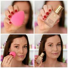foundation beautyblender pictorial