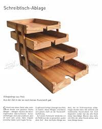 Wooden Desk Tray Plans