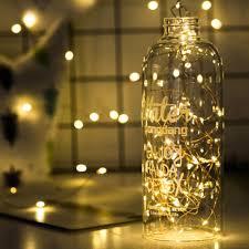 Mini Light Garland 2m 3m 4m Copper Wire Light Mini String Lights Fairy Led