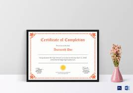 High School Diploma Certificate Fancy Design Templates 41 Sample Certificate Templates Pdf Doc Free Premium