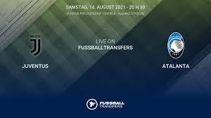 Ergebnis Juventus - Atalanta (3-1) Club Friendlies 1  Vereins-Freundschaftsspiele 2021 14/8