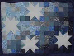Starry Night Quilt Â« When Chemists Attack & [Starry Night wall hanging] Adamdwight.com