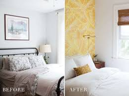 before after boho glam master bedroom reveal