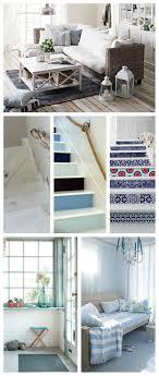 Stencil muro decorare e facile : La casa al mare : ispirazioni per arredare in stile nautico