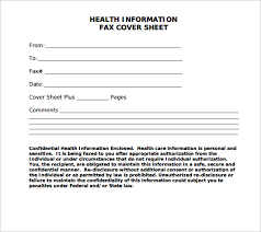 Sample Confidential Fax Cover Sheet 12 Documents In Pdf Word