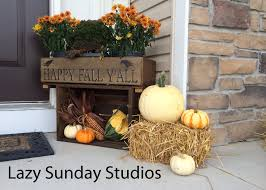 porch decorated fall fall front porch ideas pinterest home design