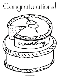 Small Picture Cake Coloring Pages Twisty Noodle