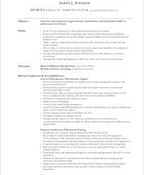 Resume Samples Executive Assistant Simple Executive Administrative