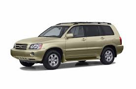 2003 Toyota Highlander Specs and Prices