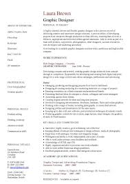 Resume Template Keep The Graphic Design In Control Throughout 87