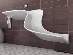Inspiration Badezimmer Einzigartigen Weißen Keramik Trog Waschbecken