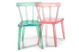 translucent furniture. Kim Markel\u0027s Popsicle-colored Recycled Chairs And Accessories Inject A Bubbly Burst Of Fun Into Any Room Translucent Furniture