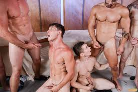 Gay anal orgy clips
