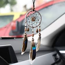 Dream Catcher For Car Mirror Gorgeous Dream Catcher Car Pendant Handcraft Car Decoration Feather Hanging