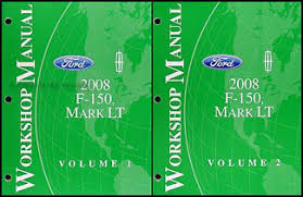 ford f lincoln mark lt wiring diagram manual original 2008 ford f 150 lincoln mark lt repair shop manual 2 volume set original 164 00