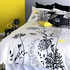 black and yellow duvet covers white black and yellow print ikea duvet cover queen with round